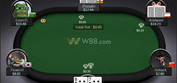 โป๊กเกอร์ออนไลน์ เงินจริง เล่นสนุกได้ที่ W88 Poker สมัครฟรี